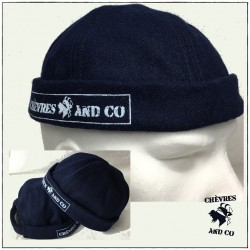 Bonnet de docker Navy