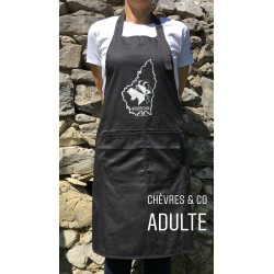 Tablier Ardéchica Adulte Dark Grey