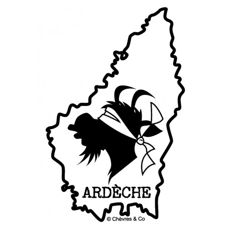 Ardéchica sticker PM