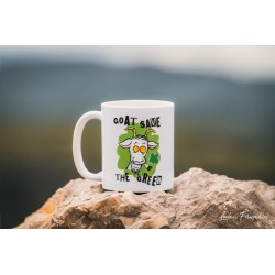 Mug Goat Save the Green